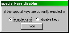 Special Keys Disabler 1.10a (build 1111)